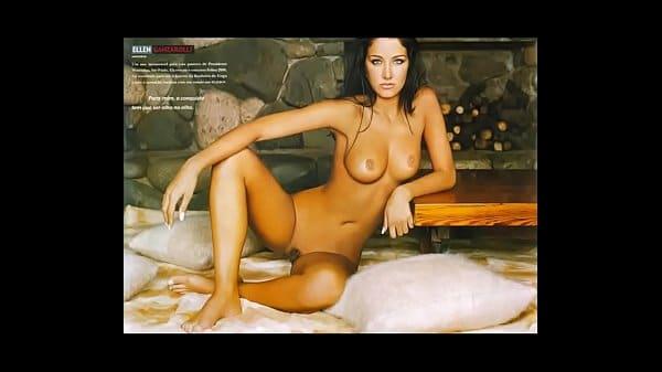 helen ganzarolli pelada em fotos sensuais para uma revista masculina