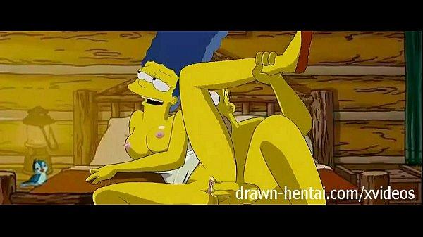Vídeo pornô de desenho do Homer comendo sua mulher Margie